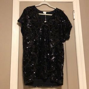 Brand New Vici Dolls Velvet Sequin Dress
